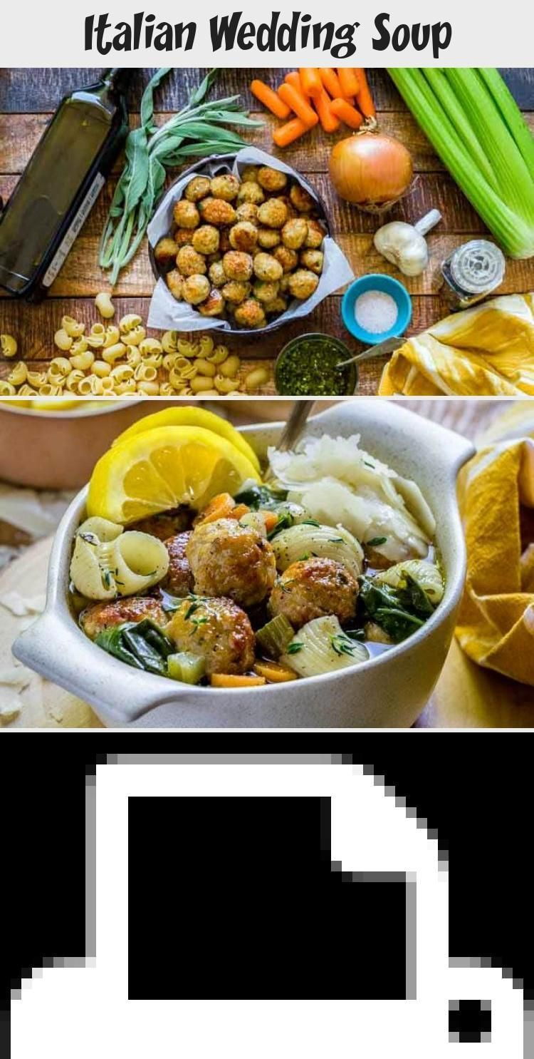 Italian Wedding Soup BEST ITALIAN WEDDING SOUP RECIPE This rustic noodle soup is packed with beautiful colors flavors and textures Enjoy a warm hearty bowl of this health...