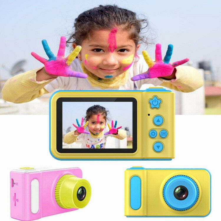 UK Mini Kids Digital Camera 2.0Inch LCD Camcorder Childs Girl Boy Birthday Gift