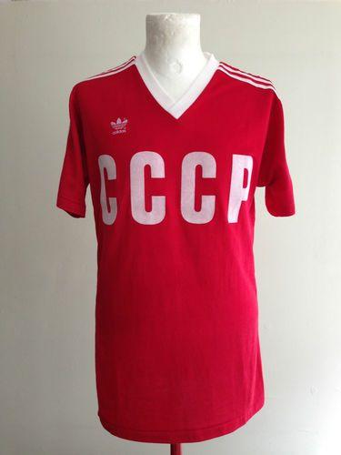 official photos 4891f 5bba6 CCCP USSR SOVIET RUSSIA 1985-86 #11 BELANOV HOME MATCH WORN ...