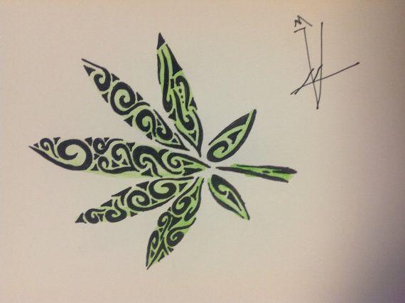 tribal pot leaf 10 pinteres. Black Bedroom Furniture Sets. Home Design Ideas