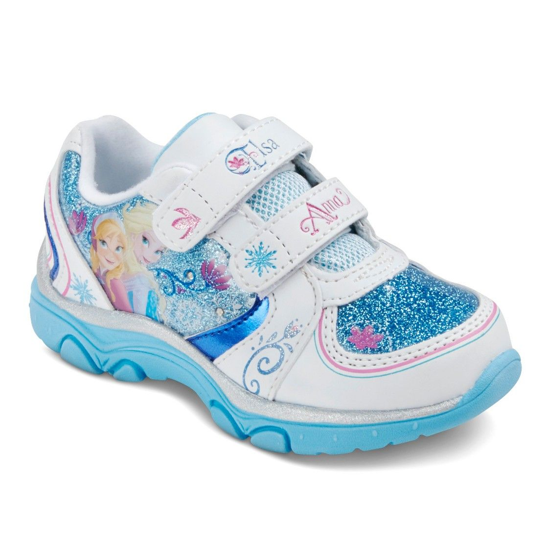 Disney  Toddler Girl's Frozen Light Up Shoes - Assorted Colors