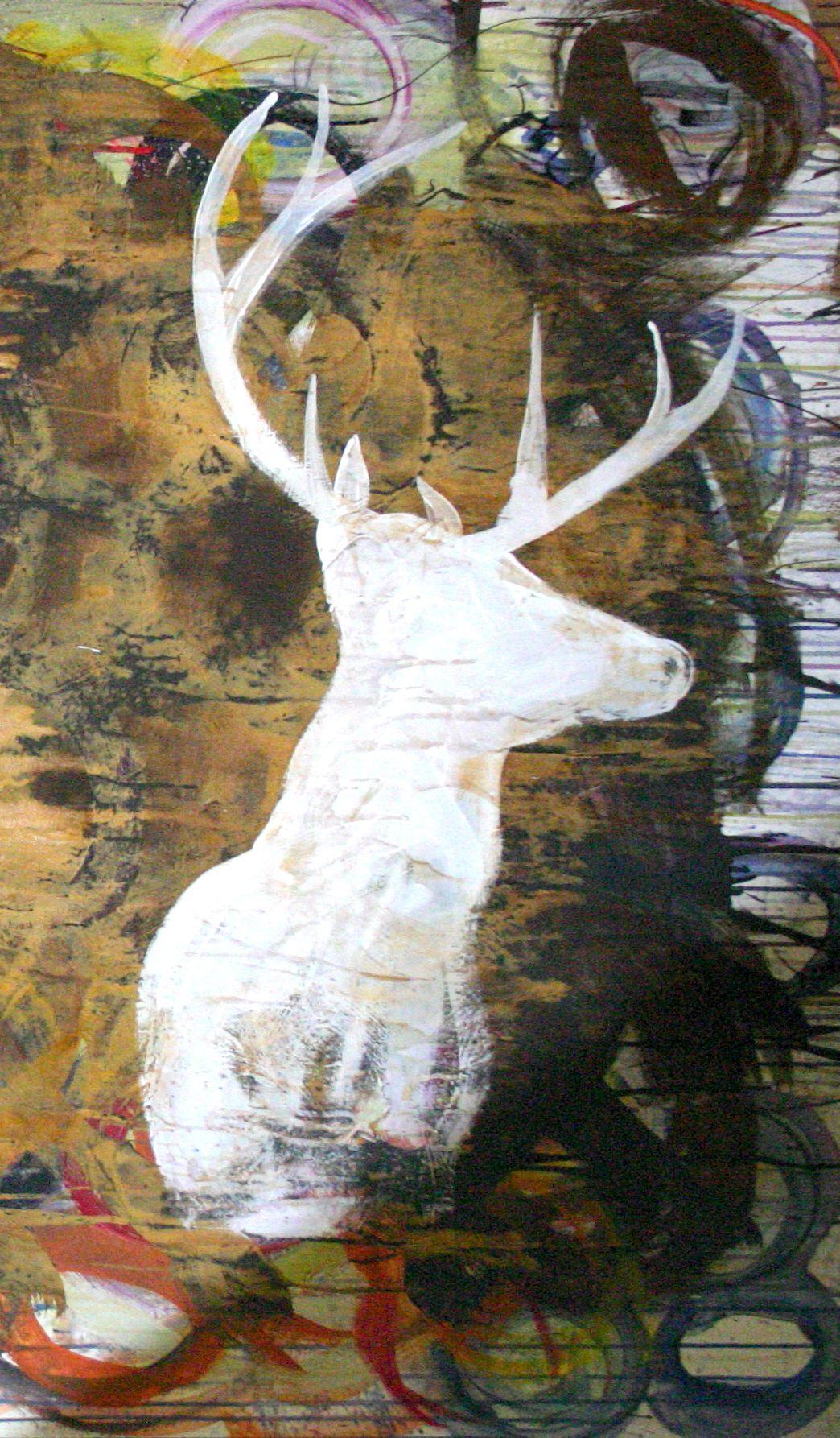 OH Deer Silhouette
