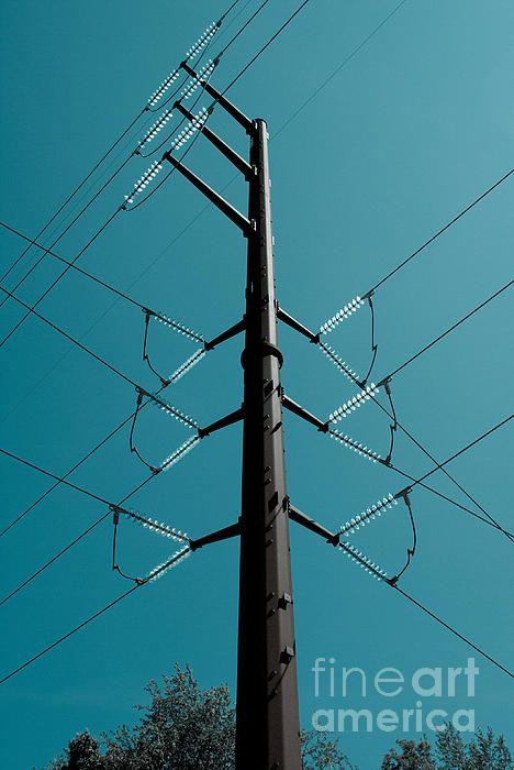electric electrical generate power grid power lines utilities ...