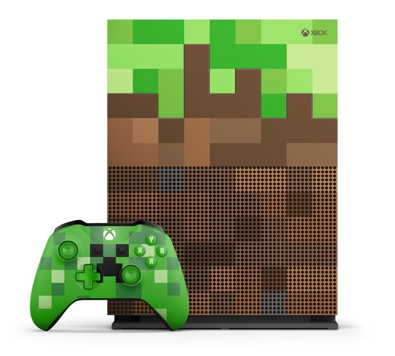Microsoft Xbox One S Minecraft Limited Edition Bundle 11TB Console