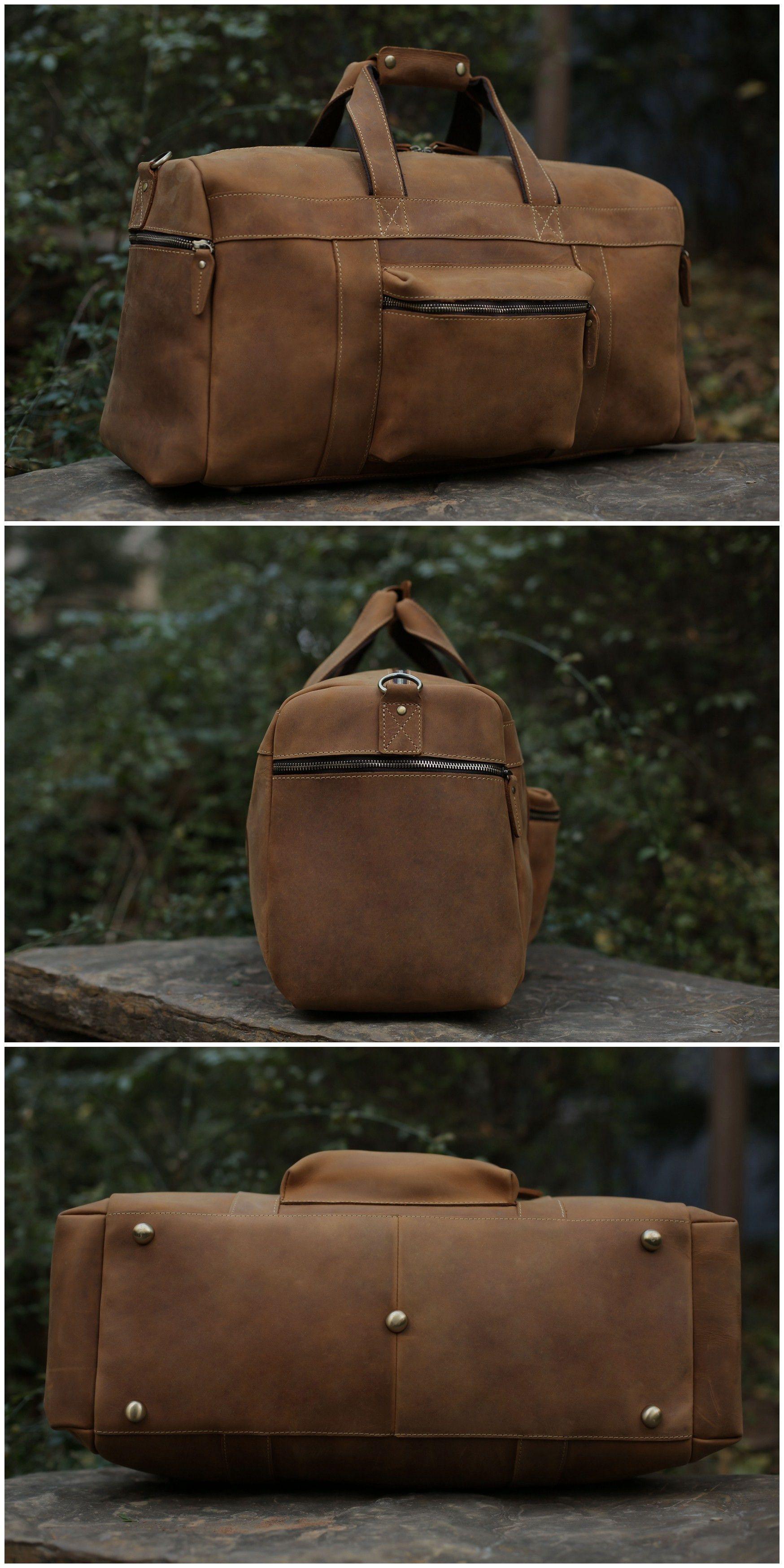 74a509f3ff Large Duffle Bag   Laptop Bag   Weekend Bag   Overnight Bag   Men s Travel  Bag