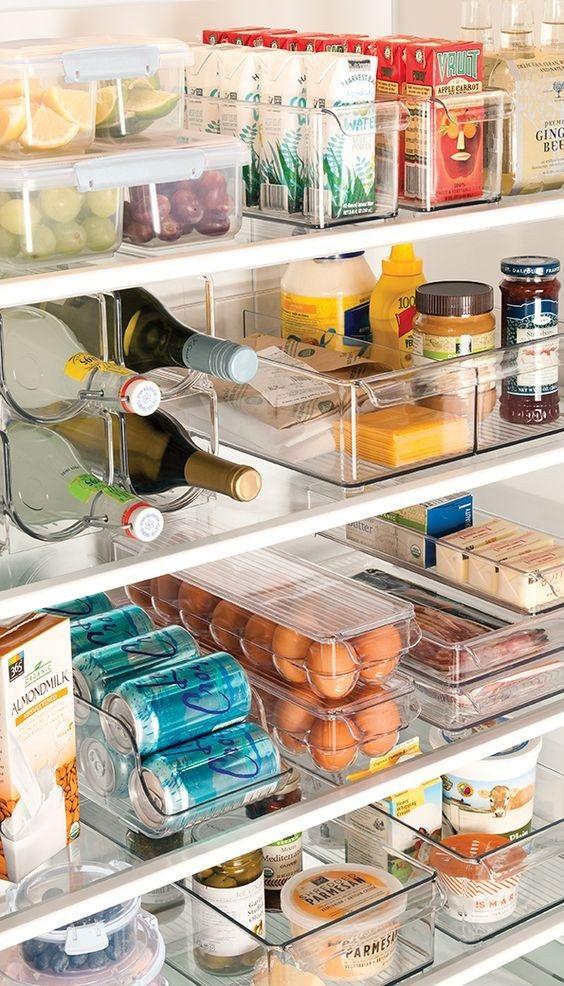 Kühlschrank richtig einräumen: So bleibt dein Essen so frisch wie möglich #kitchentips