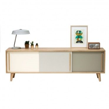 Enfilade - meuble TV Milano Retro - Création inspirée du design des années 50/60