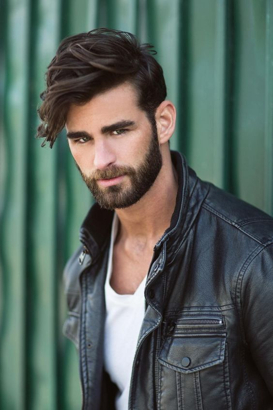 Chris Salvatore With Images Mens Hairstyles Beard Styles