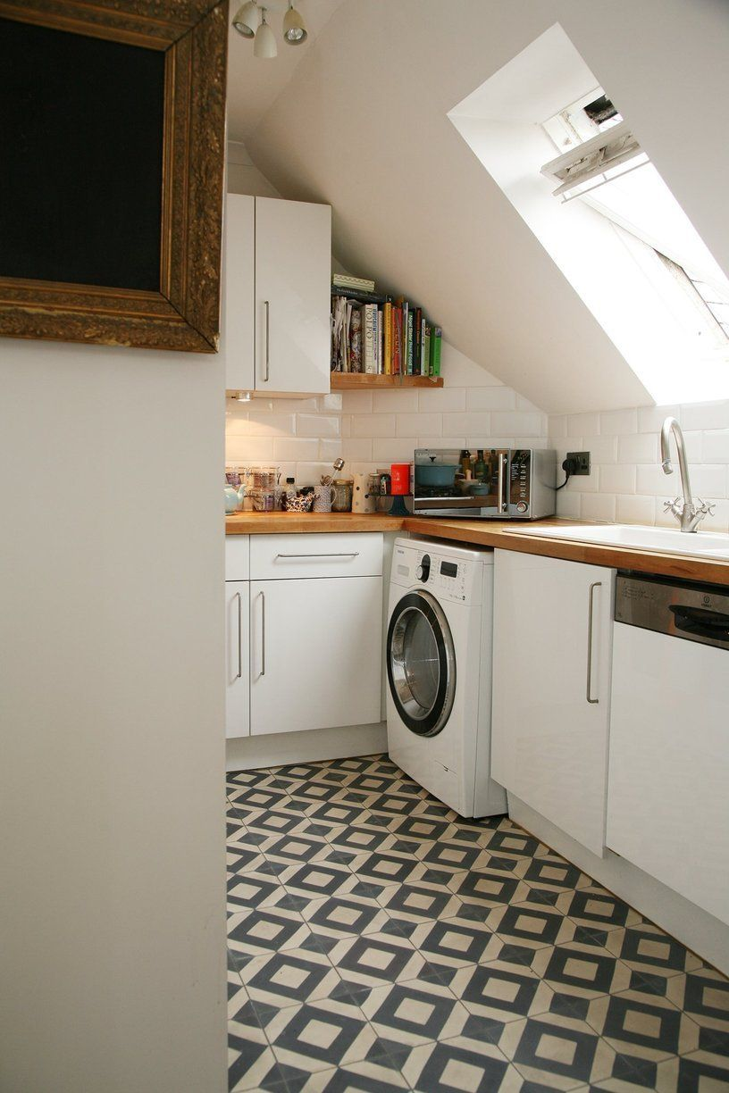 Small Kitchen Apartment Therapy Isabelles Top Floor Flat Of An Old Converted Church In London
