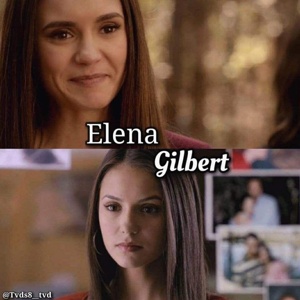 Elena Gilbert Season 1 Vs Season 8 Elena Gilbert Season 8 Gilbert