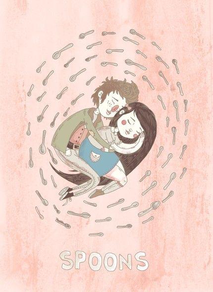 Spoons illustration by Lauren Carney