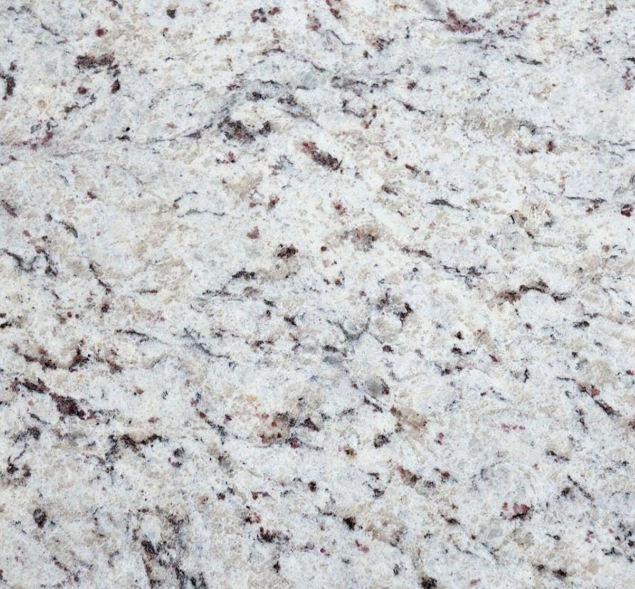 White Ornamental Granite Level 2 In Master And Downstairs Hall Bath White Granite Countertops Granite Backsplash Granite