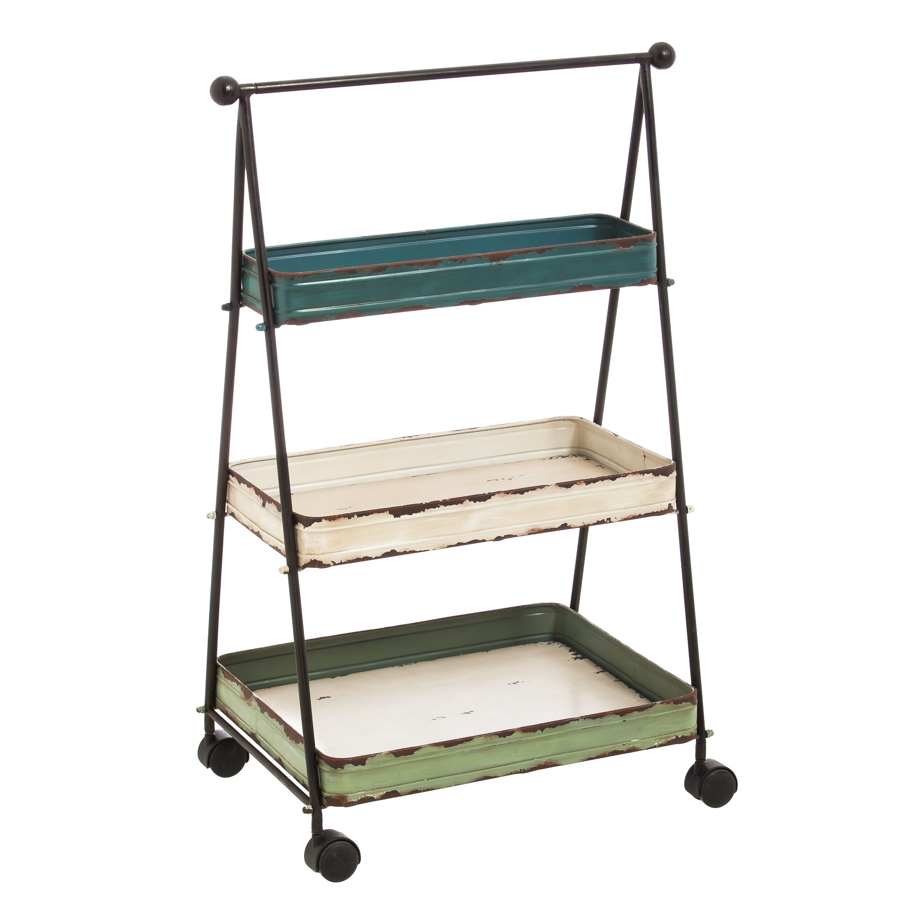 Evergreen Enterprises, Inc 3 Tier Serving Cart | Furniture & Decor ...