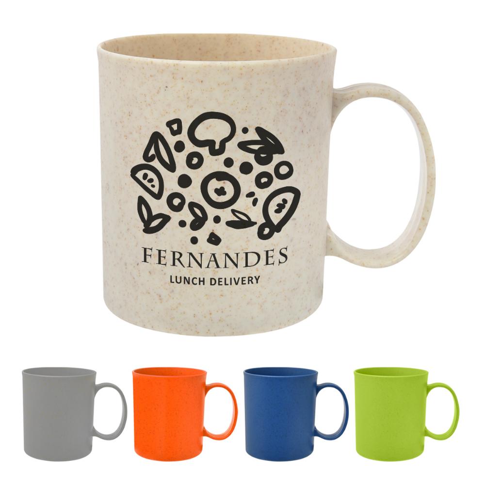 12 Oz. Wheat Mug Mugs, Custom coffee, Ceramic mugs