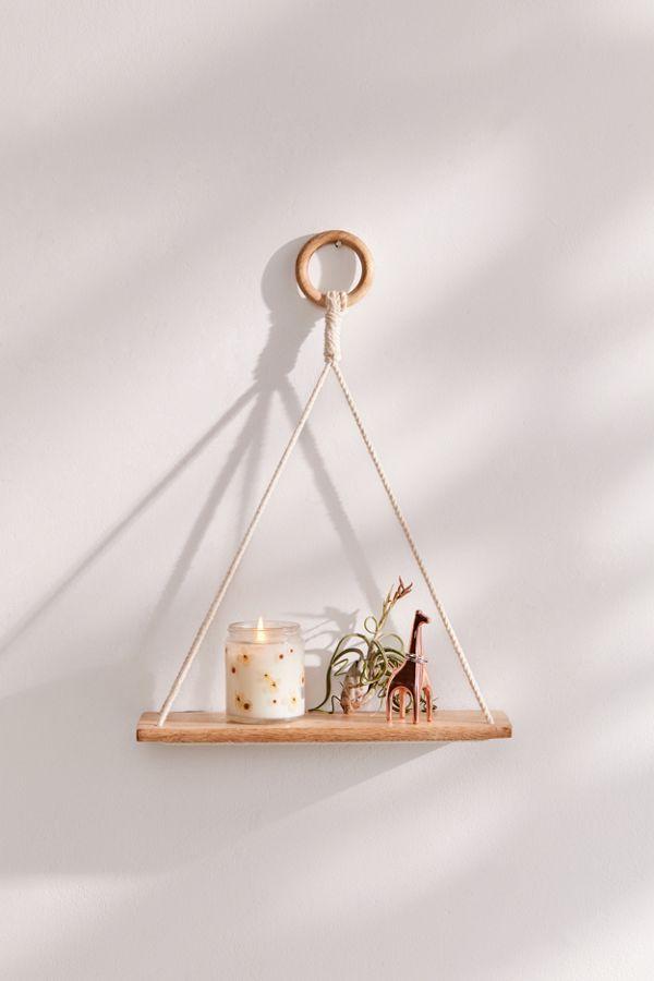 Elie Macramé Hanging Shelf in 2019   Crafts   Hanging ...