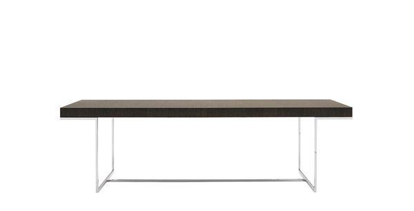 tavolo ATHOS MAXALTO      cm 200 x 100 x h 73   allungabile 265  rovere nero