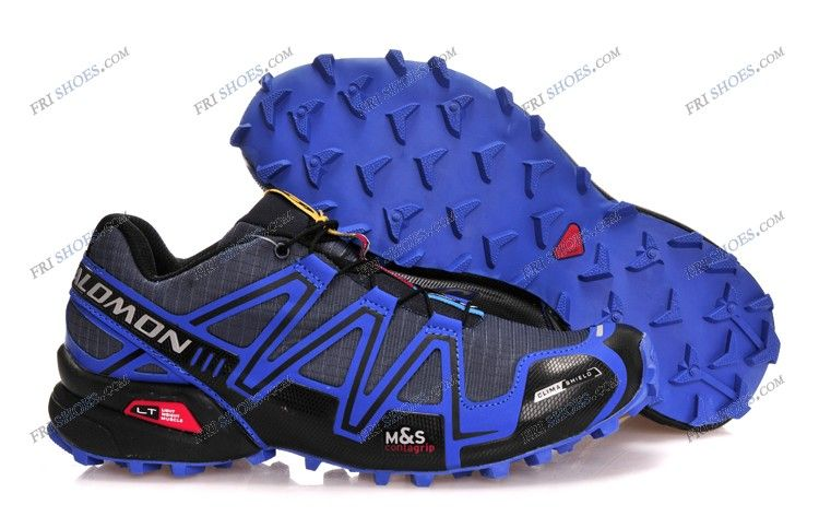 79ab56037c Men's Salomon Speedcross 3 GTX walking shoes Gray Blue shoes shop Regular  Price: $177.45 Special Price $79.89 Free Shipping with DHL or EMS(about 5-9  days ...