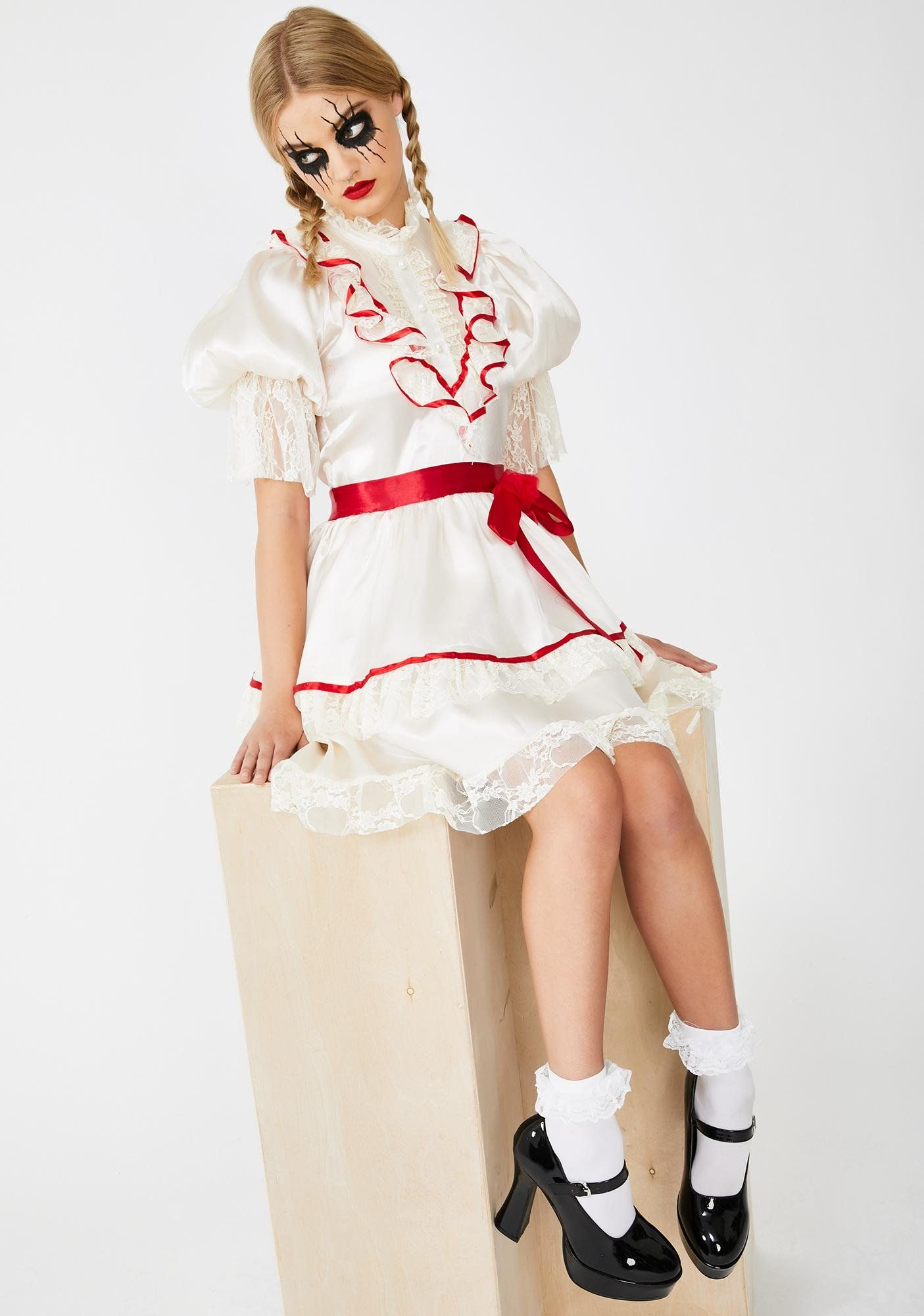 Haunted Doll Costume Set in 2020 Doll costume, Haunted
