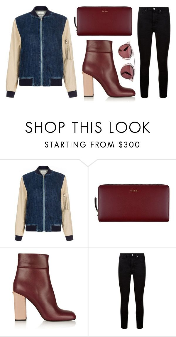 """""""Untitled #1390"""" by fashionwwonderland ❤ liked on Polyvore featuring Paul Smith, Marni, Paige Denim and Christian Dior"""