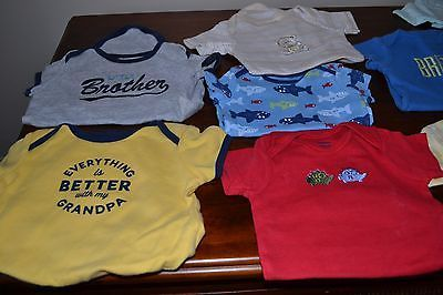 Baby boy onesies Lot of 12 Size 3 Months -12 months Carters More Great Cond. https://t.co/ykTiq8qkkO https://t.co/e6ddTN8bgc