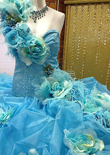 Gorger Eden Gypsy Wedding Dress #MBFAGW | My Big Fat American Gypsy ...