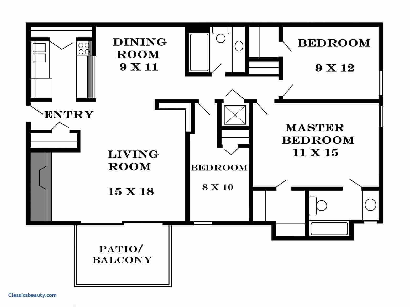 3bedroom Flat With 2 Sitting Room Plan And Design