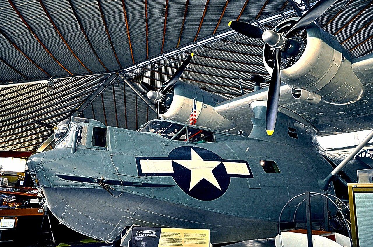 USAF PBY Catalina Лодка, Самолет