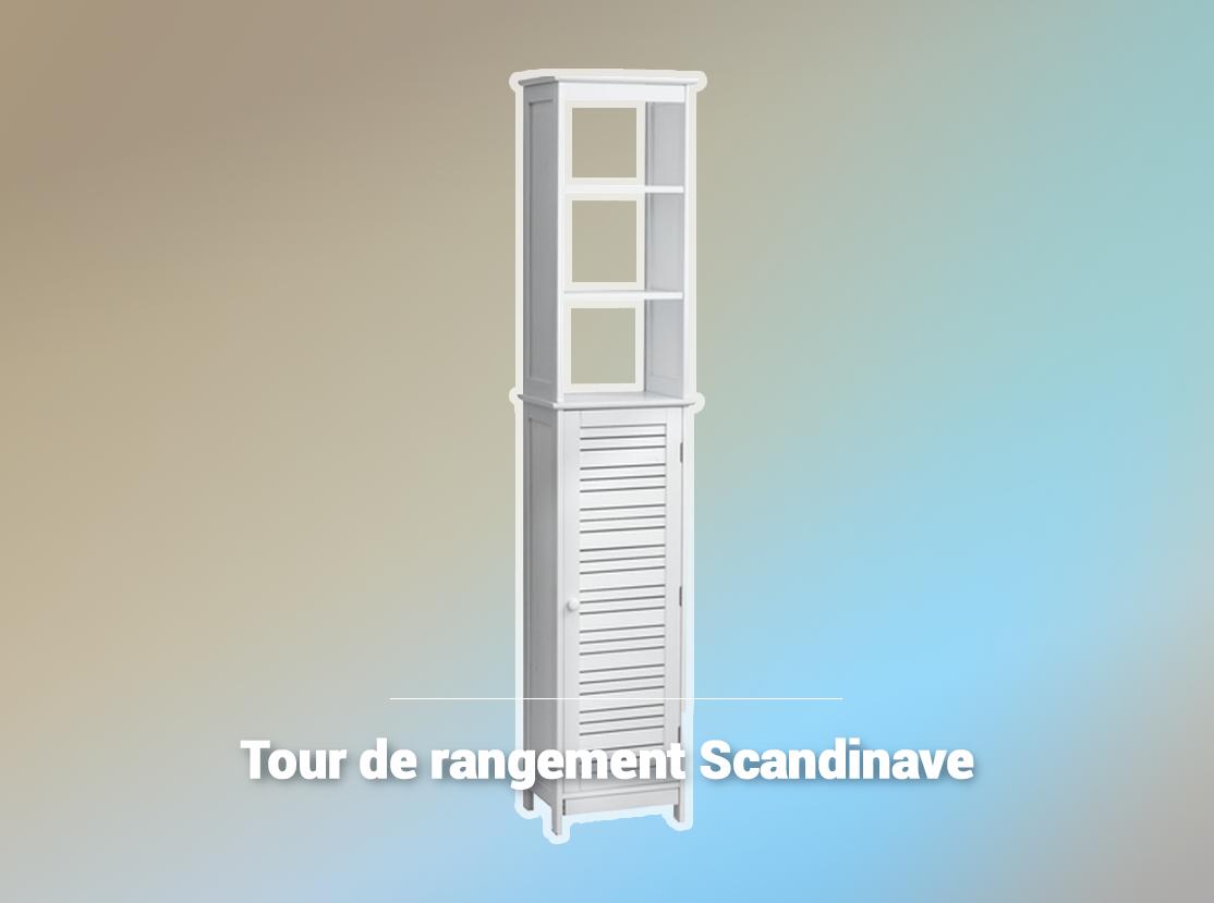 Tour De Rangement Scandinave La Foir Fouille Tour De Rangement Meuble De Salle De Bain Rangement