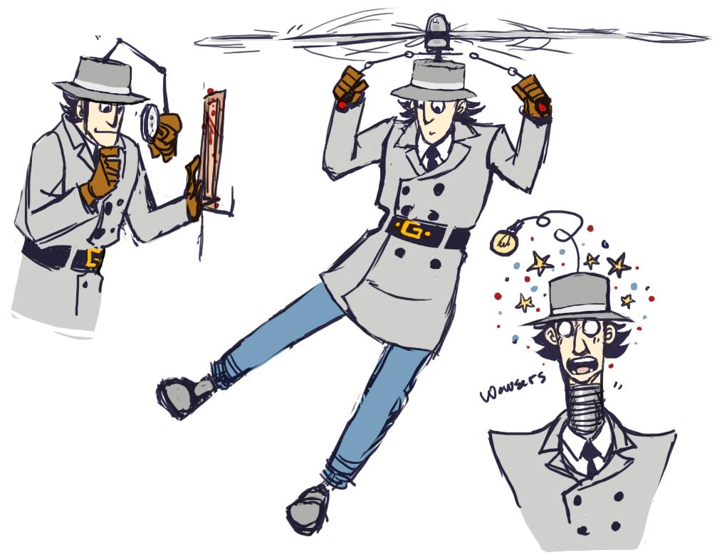 Gadget By Kakaino Favorite Cartoon Character Inspector Gadget Gadgets