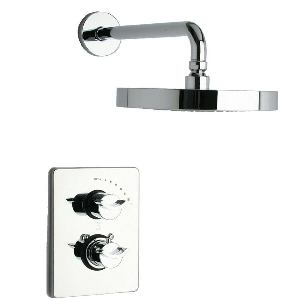 Latoscana Morgana 2 Handle 1 Spray Thermostatic Tub And Shower