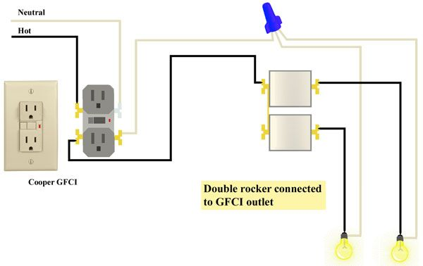 Nice combination switch wiring diagram gfi outlet images cooper gfci combination switch wiring diagram somurich asfbconference2016 Images