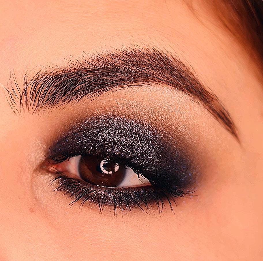 Photo of Dark Blue Smokey Eyes