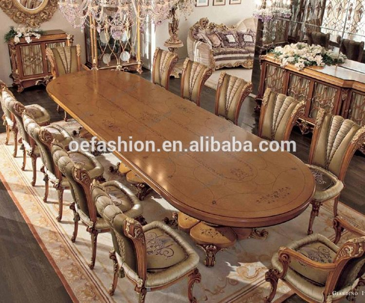 Oe Fashion Luxury Wooden Dining Room Table Sets Furniture From China View Luxury Dining Table Set Oe Fashion Product Details From Foshan Oe Fashion Furniture Wooden Dining Room Table Luxury Dining Tables Dining