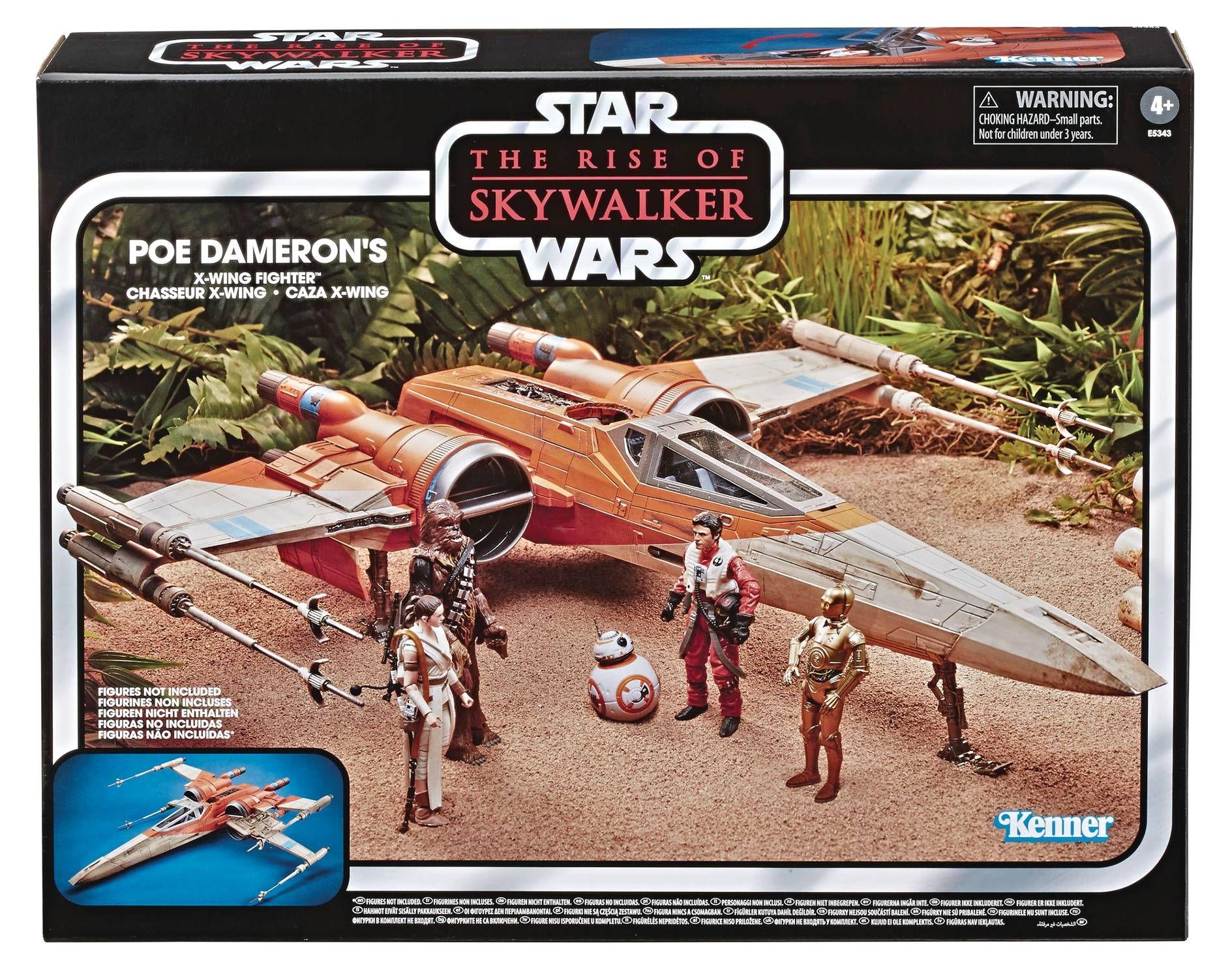 Star Wars E9 Vintage Poe Dameron X Wing Fighter X Wing Vintage Star Wars