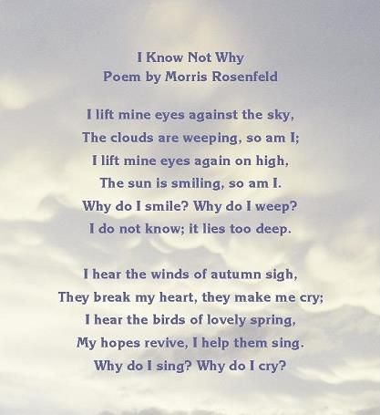 Inspirational poem - poetry about the mysteriousness of emotions ...