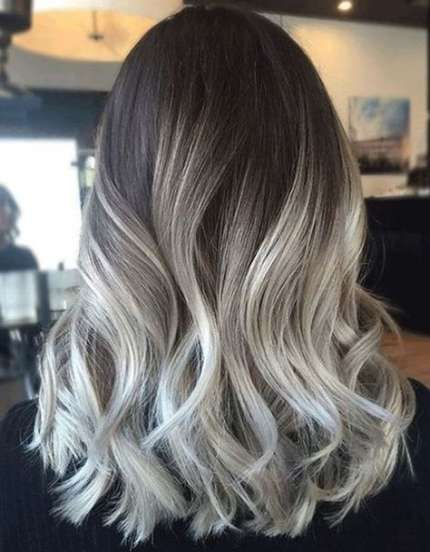 48 Super Ideas Hair Color Gray Highlights Silver Ash Blonde #ashblondebalayage