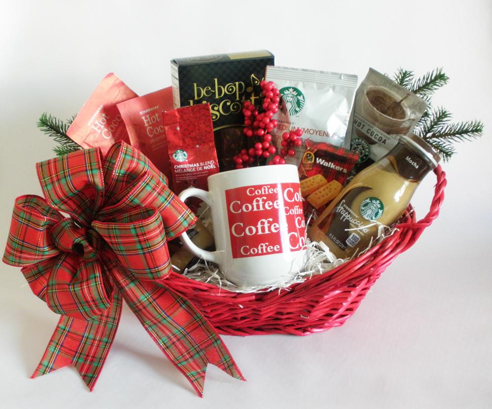 starbucks jingle christmas gift basket christmas gift basket