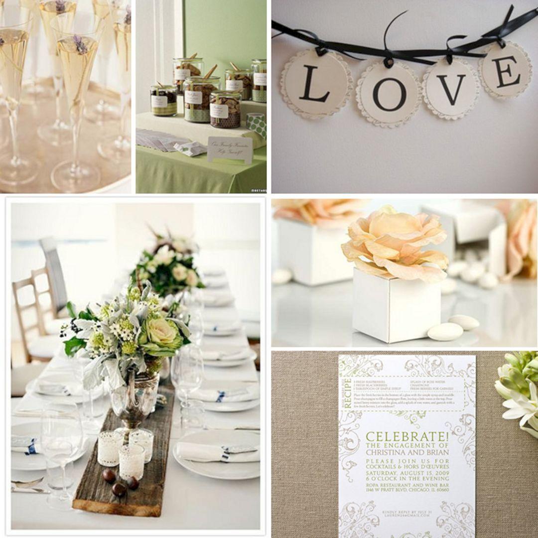 Engagement Party Decorations Ideas Tables 25 Amazing DIY Engagement ...