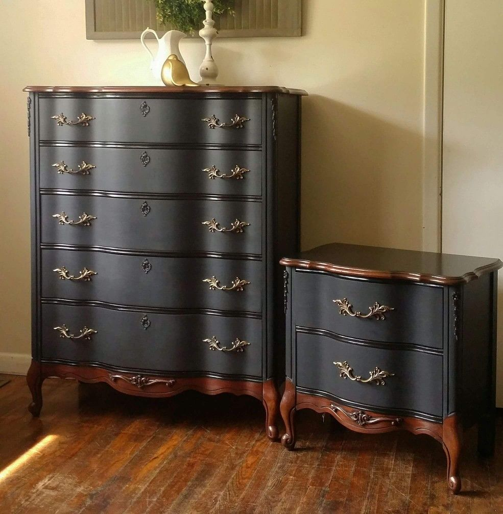 I Have The Taller Piece And I Will Be Doing This Look Furniture Rehab Redo Furniture Furniture Makeover Diy