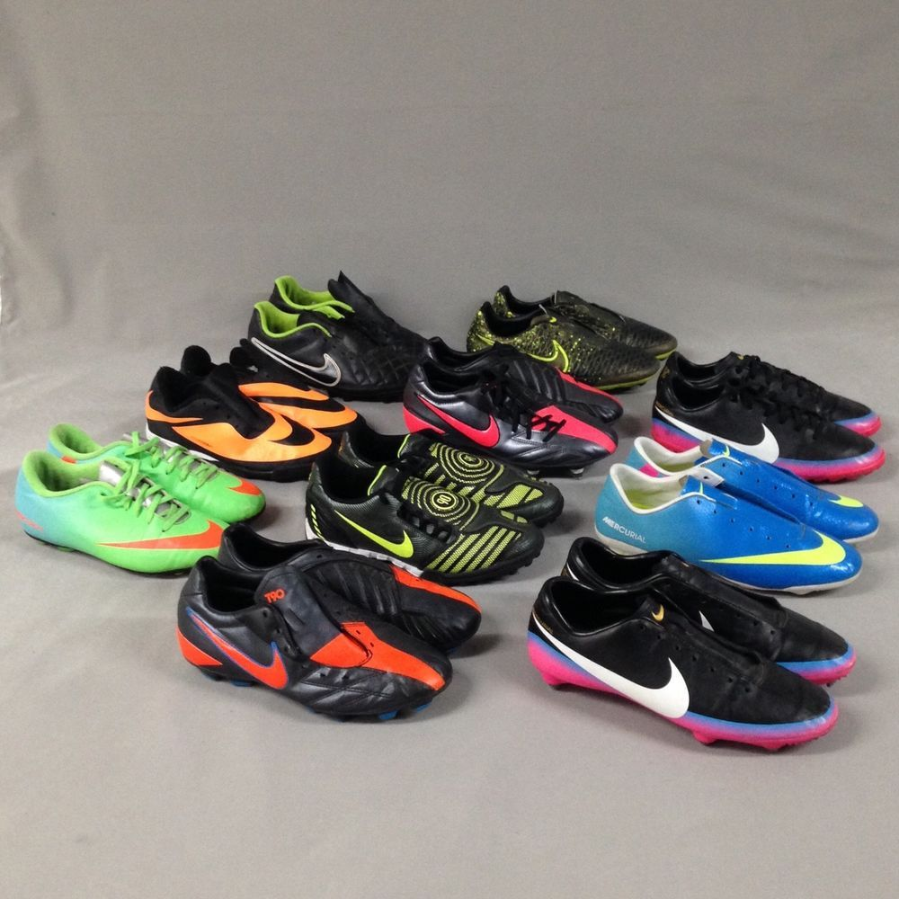 e33caf47001 Nike Football Boots Bundle Mens Boys Shoes Joblot Trainers size UK 5 5.5