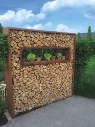 bildergebnis f r sichtschutz mit brennholz legnaia pinterest brennholz sichtschutz und. Black Bedroom Furniture Sets. Home Design Ideas
