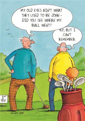 Moonpig Personalised Cards Birthday Cards Greeting Cards Old Age Humor Golf Quotes Golf Humor