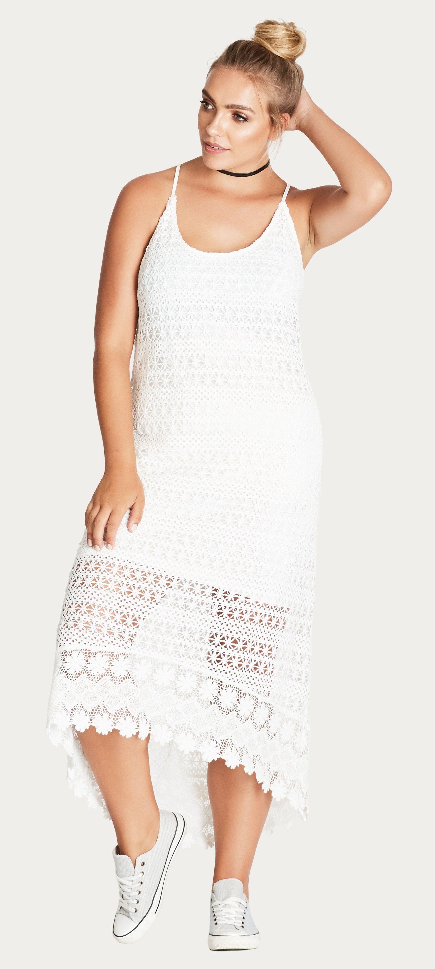 Bbw wedding dresses  Plus Size Crochet Dress  mariage  Pinterest  Tara lynn Moda and