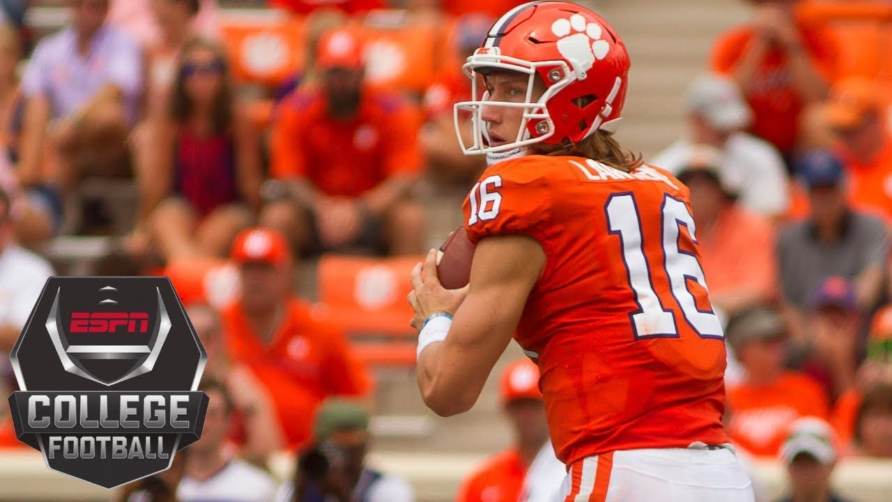 College Football Highlights No. 2 Clemson routs