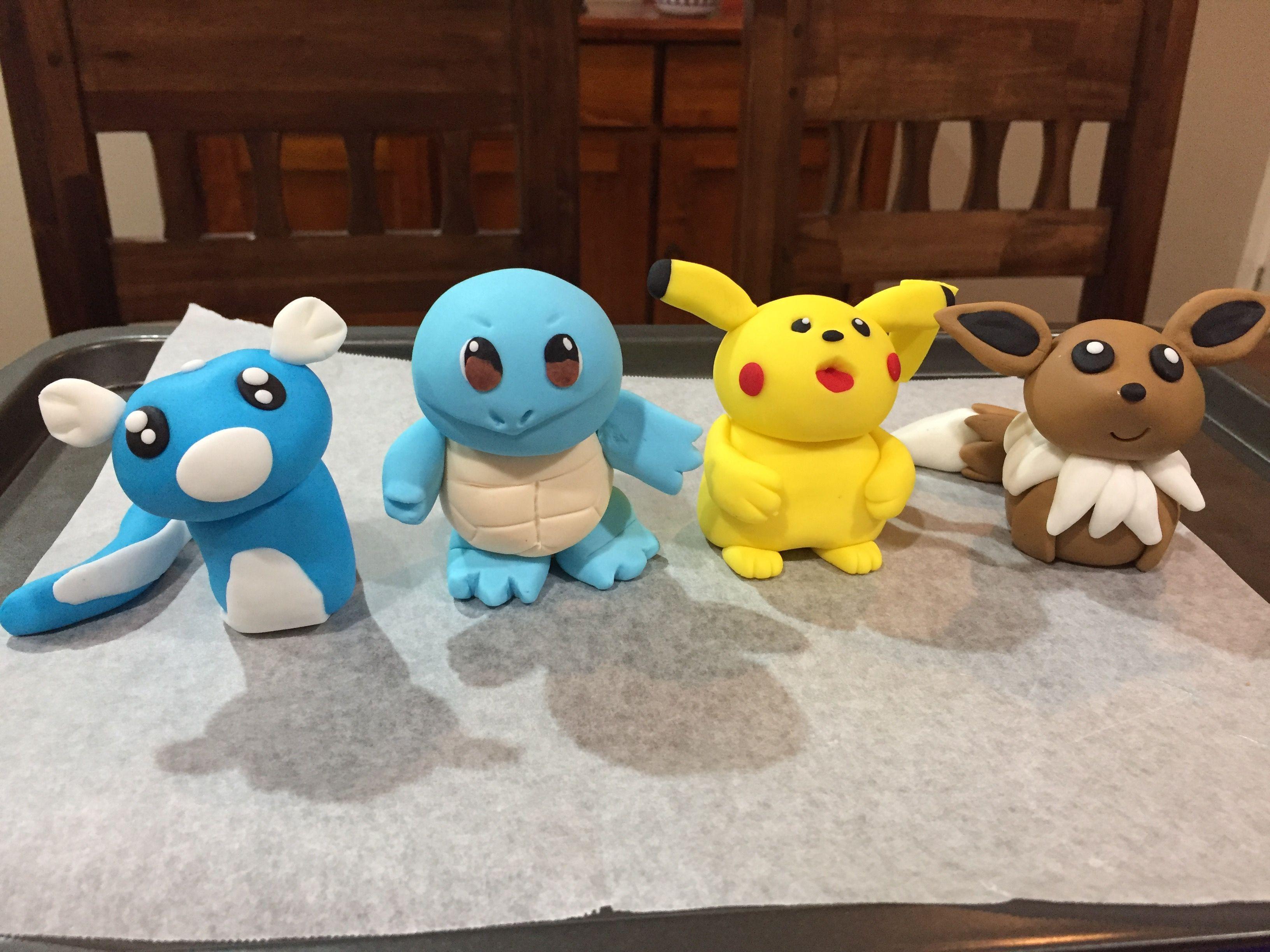 Pokémon cake toppers #pikachu #pokemon | Pokemon cake ...