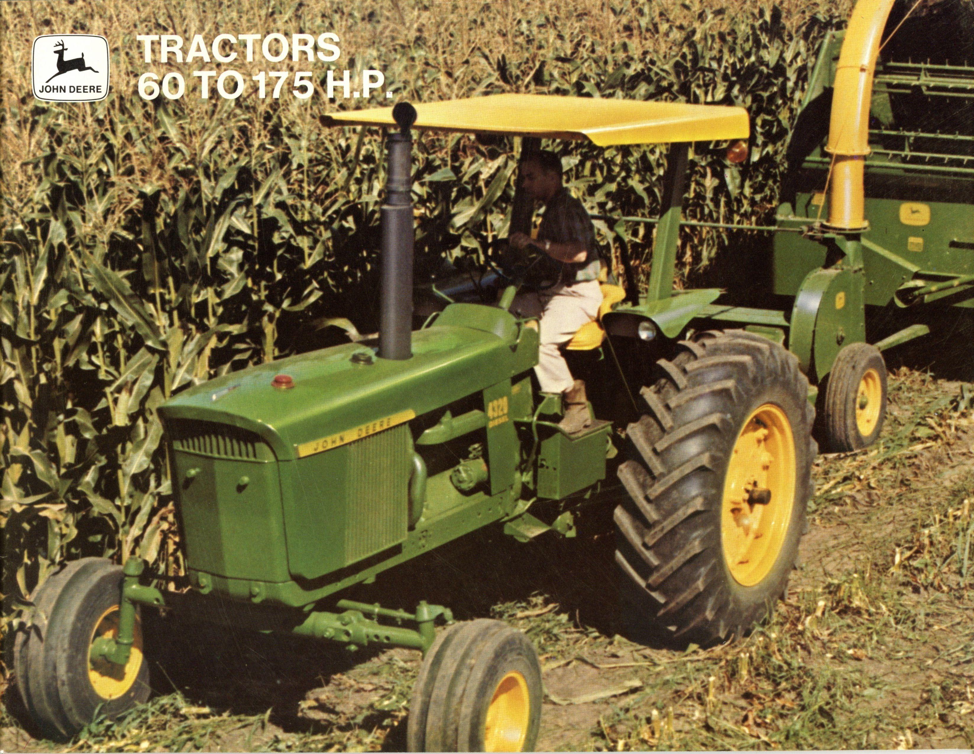 John Deere 20 Series Brochure: 3020/4020/4320/4620/5020/7020.For the ...