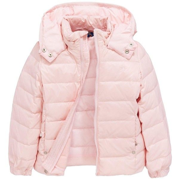 3eeba6534 Ralph Lauren Girls Down Padded Jacket ( 105) ❤ liked on Polyvore ...