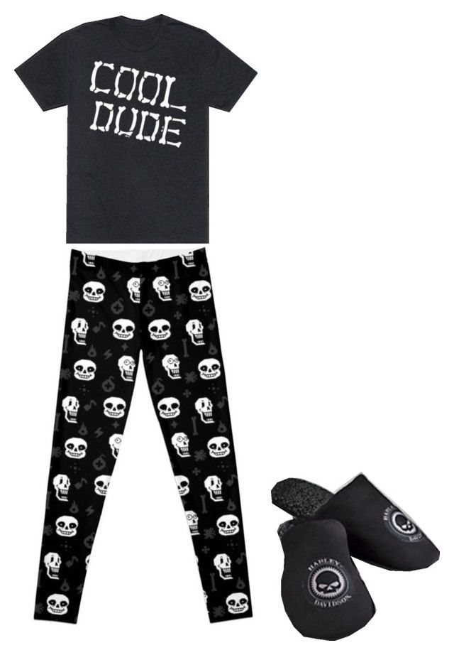 """UnderTale Pajamas"" by jadethemobiangem on Polyvore"