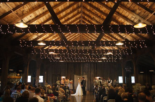 Seattle Barn WeddingIn Love With This