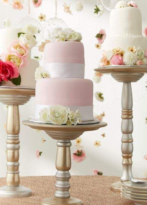 Metallic Cake Stands